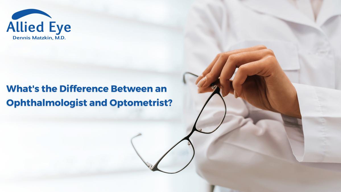 Ophthalmologist vs Optometrist Blog