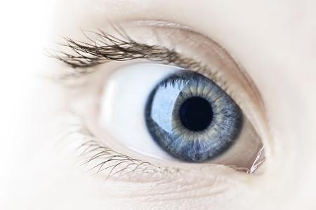 Image of a healthy eye and eyelid